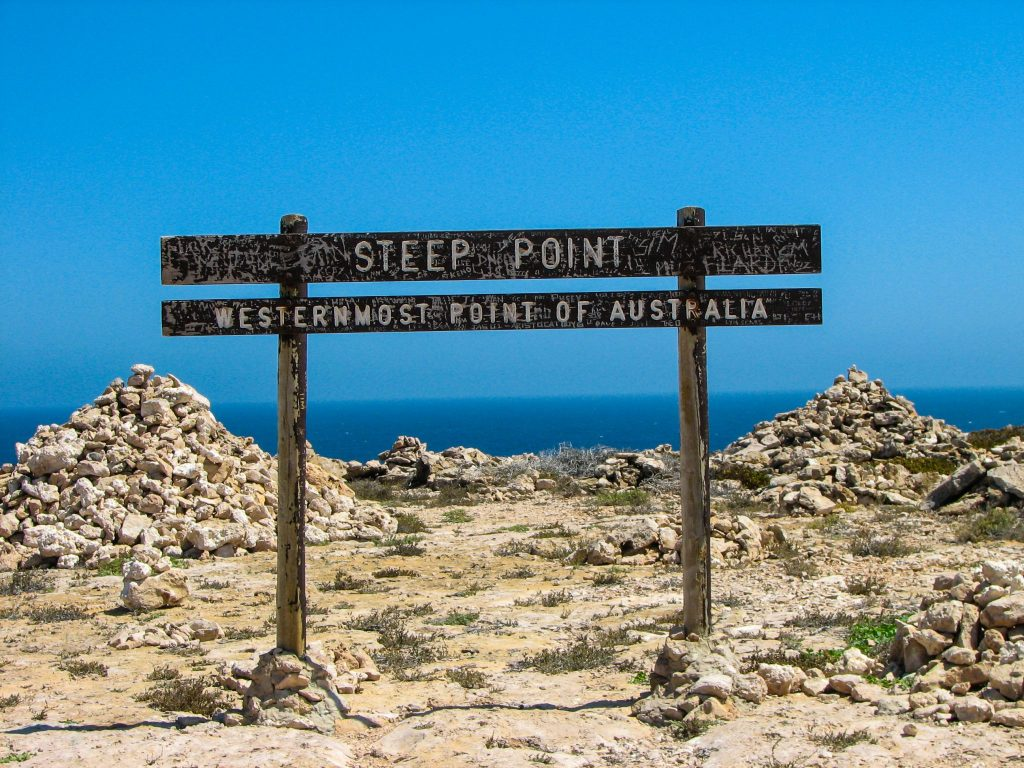 Steep Point, Shark Bay
