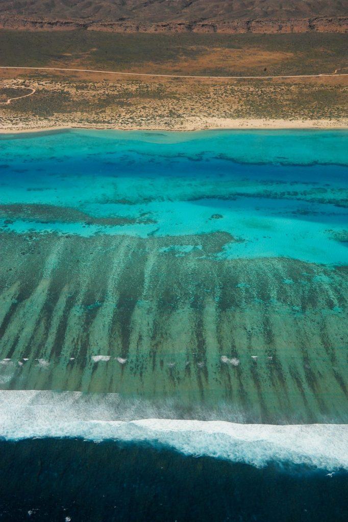 Aerial image of Ningaloo Reef